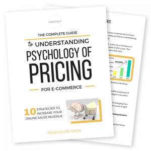 Psychology of pricing banner transparent