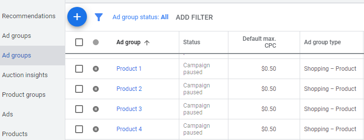 google shopping rename ad groups2